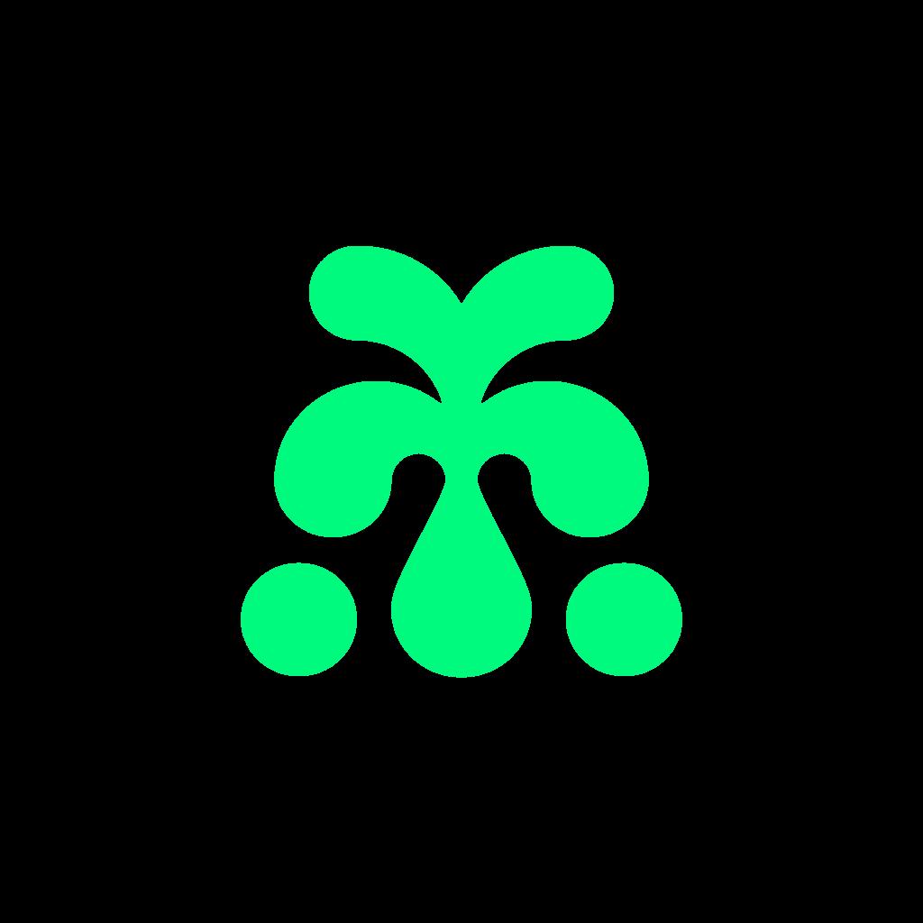 AYA Farmery logo grafisches Element grün